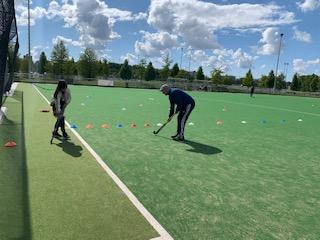 Hockeytraining voor de jeugd