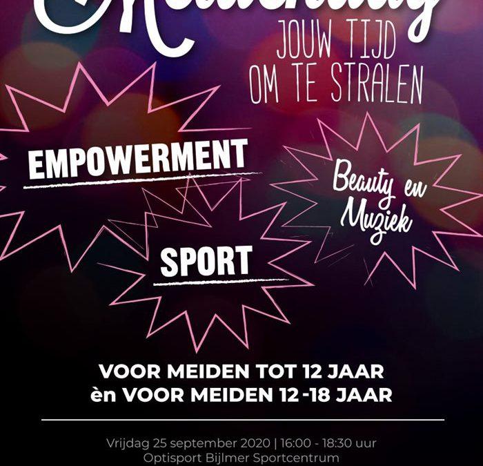 Open lessen Amsterdamse Sportweek vrijdag 25 (Meiden-dag!)
