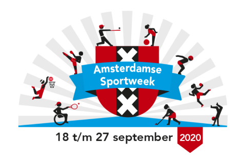 Open lessen Amsterdamse Sportweek donderdag 24 september