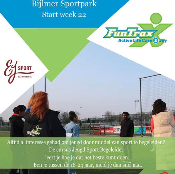 Nieuwe Jeugd Sport Begeleiders Cursus start in week 22