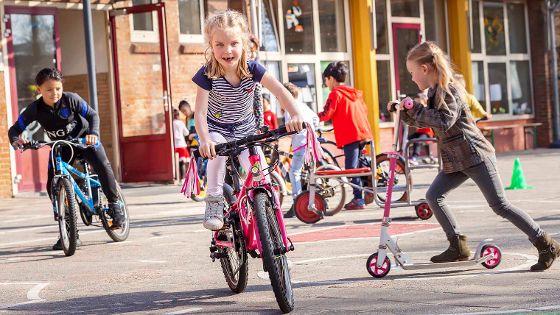 Basisschool Crescendo is genomineerd voor een ANWB-verkeersplein!