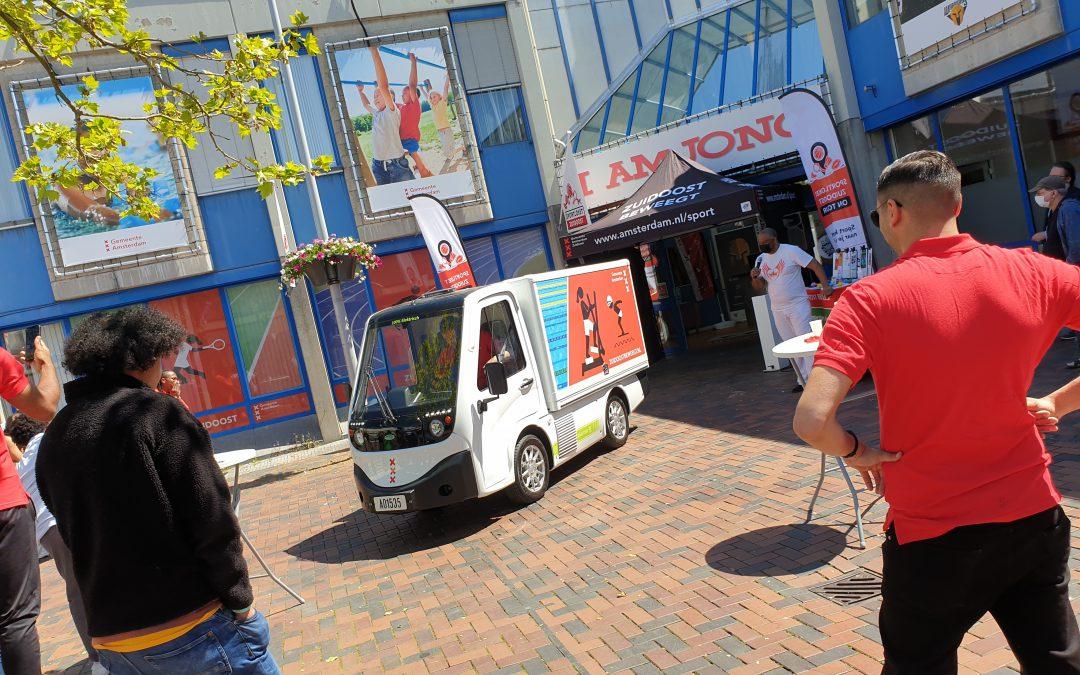 Opening Sportloket en Mobiele Sportloket Zuidoost