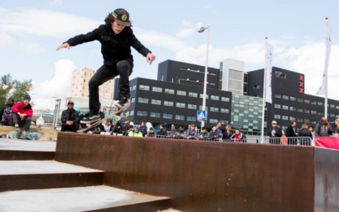 Vind je skatepark in Amsterdam
