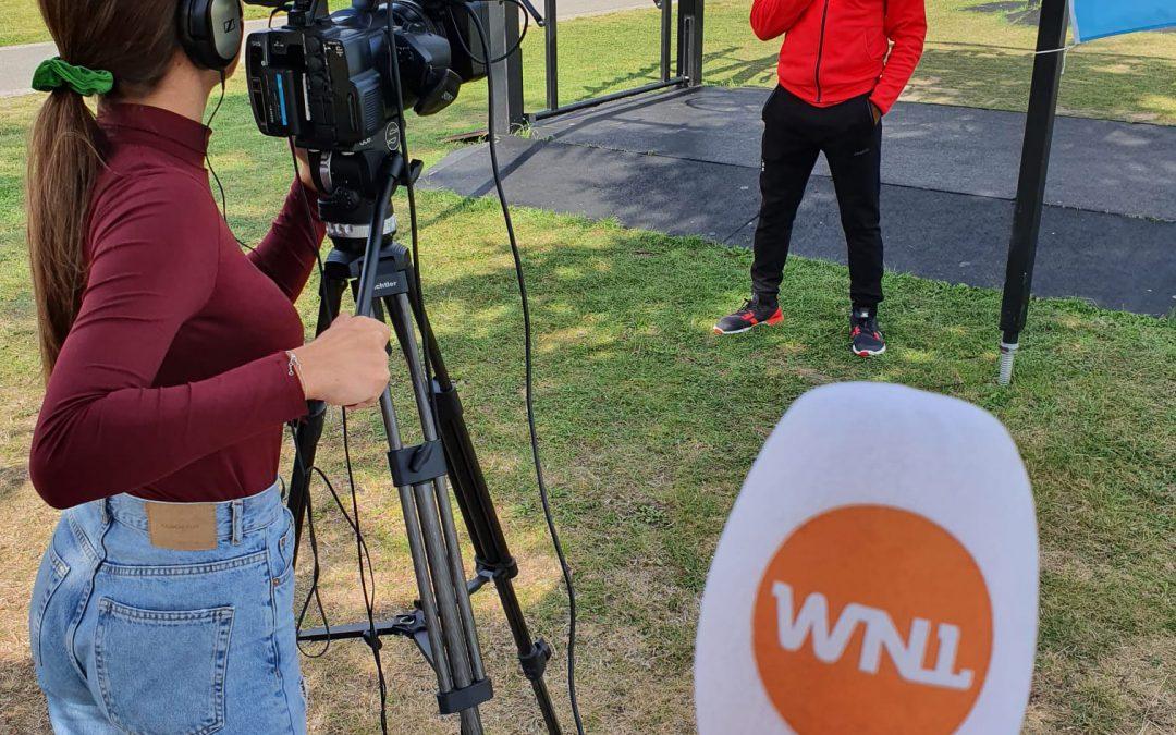 Zuidoost Beweegt met Sportcontrainers bij WNL vandaag!